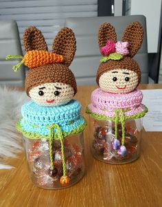 Holiday Crochet, Easter Crochet, Crochet Bunny, Crochet Home, Crochet Gifts, Crochet Motif, Crochet Designs, Crochet Dolls, Crochet Patterns