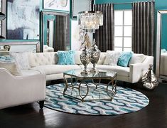 Yes. Yes. Yes. Circle sectional is in my future!! Circa Sectional - 2 Piece   Sectionals   Living Room   Furniture   Z Gallerie