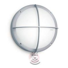 Steinel L 331 S outdoor wall light, sensor, silver buy