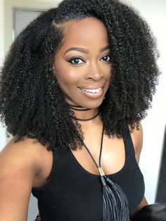 Msnaturallymary rocking her favorite.natural hair extensions: Hergivenhair Click picture to learn more.. Hair specs:  Type: upart  Length: 14,16,18 Grams:270
