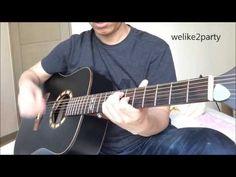 [Nick샘] 빅뱅_Welike2party guitar cover(위라이투 파티 기타연주) - YouTube