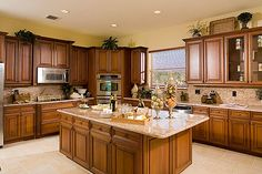Expansive Well Ointed Gourmet Kitchen A Gl Homes Trademark Newfloridahomes Pee