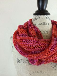 Kettle Tweed Scarf Free Knitting Pattern