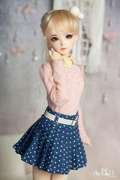 Японская кукла.
