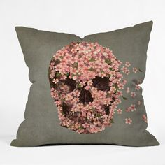 Terry Fan Reincarnate Throw Pillow | DENY Designs Home Accessories