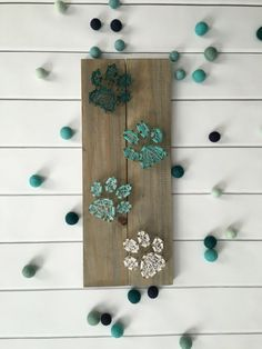 String Art – Customizable String Art – Paw Print String Art – Nail and String Art – Home Decor – Animal Lover – Ombre Decor - New Diy Crafts Idea 2019 Dog Crafts, Cute Crafts, Diy And Crafts, Arts And Crafts, Nail String Art, String Crafts, Resin Crafts, String Art Patterns, Doily Patterns