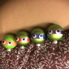 Our Christmas craft! #TMNTornament