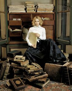 Madonna with books by Lorenzo Agius.  Ladies' Home Journal, July 2005.