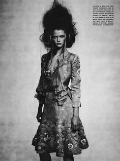 "Editorial- ""So Splendid and Magic"" by Paolo Roversi Vogue Italia Supplement - March 2005"