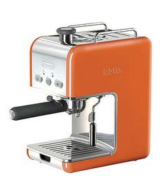 Look what I found on #zulily! Orange kMix Espresso Machine #zulilyfinds