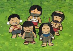 """ISA lança livro infantil. """"Povos Indígenas no Brasil Mirim"""" traz panorama dos 246 povos indígenas do país através de suas realidades, brincadeiras e culturas e formas de vida."""