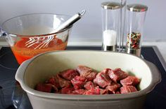 foodwithlove mit Pampered Chef: Gulasch ♡ ohne Anbraten im Ofenmeister