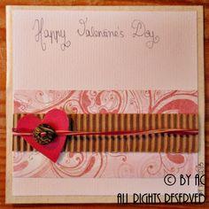 """""""Button"""" Valentines card"""