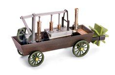 X03 Diligenza di Gurney (1825) Amphibious Vehicle, Wooden Toys, Vehicles, Car, Home Decor, Amphibians, Swimming, Wooden Toy Plans, Wood Toys