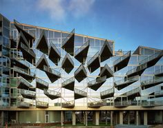 Built by BIG,JDS in Copenhagen, Denmark with date 2005. Images by BIG & JDS. If people are different then why are all apartments alike?   The VM Houses are two residential blocks formed as the l...