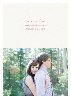 save the date cards - Breeze by Sincerely Jackie