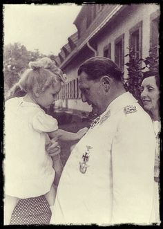 Edda Göring with her father Hermann