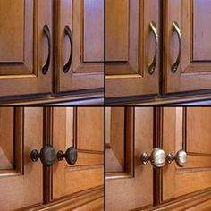 proper placement of cabinet pulls - Google Search