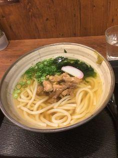 Kashiwa Udon at Yokayoka - Yurakucho