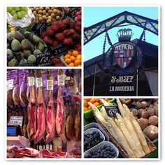 La Boqueria Market in Barcelona best place in the world for a feed!!!!