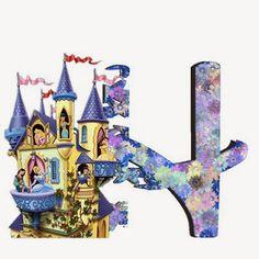 Alfabeto de Princesas Disney. | Oh my Alfabetos! Disney Alphabet, Cute Alphabet, Alphabet Letters, Alfabeto Disney, Disney Princess Party, Christmas Ornaments, Wallpaper, Holiday Decor, Floral