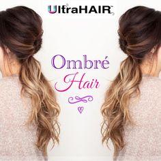 Tic Tac Ombré Hair by UltraHair! Acesse www.ultrahair.com.br