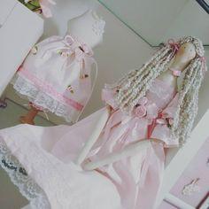 Tilda e manequim tb em rosa