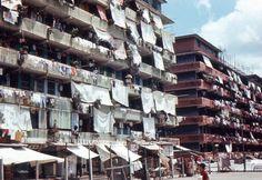 35mm Slide Hong Kong Apartment Buildings 1970