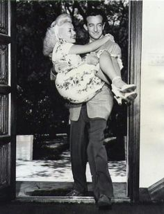 I just found out the my new crush, Harry James, was married to Betty Grable. They are aadorable!!