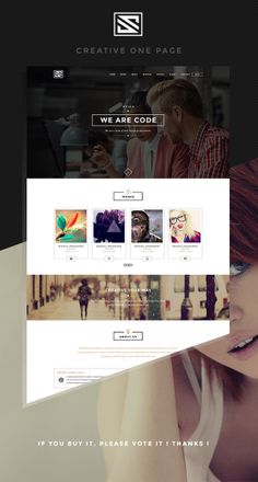 PSD Template - Vastudio Creative One Page
