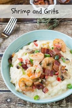 Southern Shrimp and Grits !