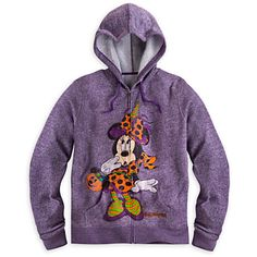 Minnie Mouse Halloween Hoodie - would love this!