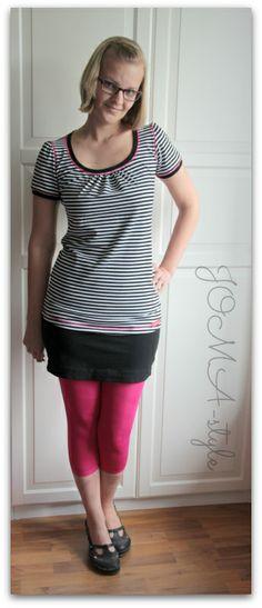 Joma style wickelkleid