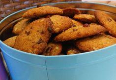 Egészséges csokis-mogyoróvajas keksz Biscuits, French Toast, Paleo, Potatoes, Healthy Recipes, Cookies, Vegetables, Breakfast, Ethnic Recipes