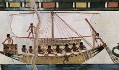 Barque des morts