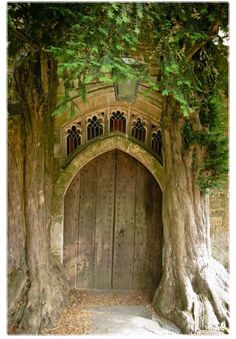 Back door of St. Edwardu0027s Church Stow-on-the-Wold - Cotswold u2013 England said to be the inspiration for the Moria door in J. Tolkienu0027s Lord of the Rings. & KrazyKattlady : Photo | Doors windows u0026 hardware | Pinterest ...