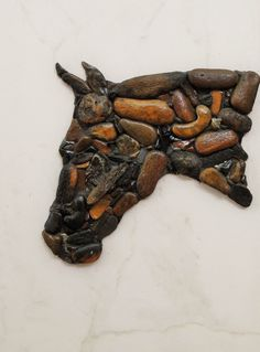 Horse's Head by PEBBLEMOSAICS on Etsy