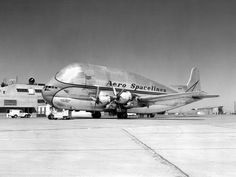"The Boeing 377 ""Pregnant Guppy"""