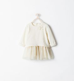 Christening - COMBINED TULLE DRESS from Zara