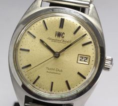 Vintage IWC Yacht Club Automatic pellaton system Cal.8541 Men's watch #IWC