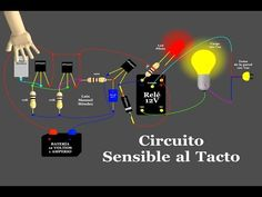 Circuito Sensible al Tacto (Animación) - YouTube