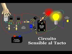 Circuito Sensible al Tacto (Animación) - YouTube