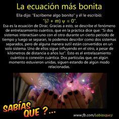 La ecuación más bonita. :3