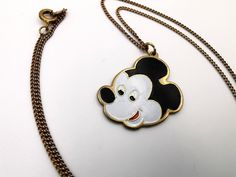 Mickey Mouse Vintage Metal Pendant Necklace Walt Disney Productions Cloisonne Style NEW old stock by VintageToysForAll on Etsy Disney Costumes, Adult Costumes, Costumes For Women, Woman Costumes, Couple Halloween Costumes For Adults, Couple Costumes, Kids Jewelry, Unique Jewelry, Frozen Costume Adult