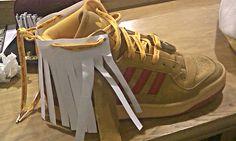 red adidas mock sneaker mock up