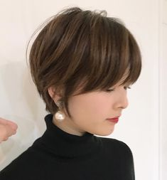 Balayage for Short Hair: 28 Stunning Hair Color Ideas - Style My Hairs Face Shape Hairstyles, Cute Hairstyles For Short Hair, Short Hair Cuts, Bob Hairstyles, Straight Hairstyles, Short Hair Styles, Layered Hairstyles, Bridal Hairstyles, Pretty Hairstyles