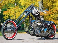 H-D Custom Chopper