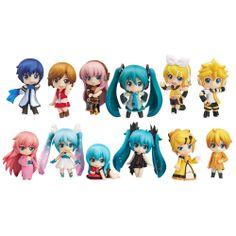 Character Vocaloid Series: Nendroid Puchi Hatsune Miku Selection Set de 12 figuras    Precio de otras tiendas: 7200 yenes  Precio Todoke!: 6800 yenes   PIDELO EN TODOKE: http://todoke.jp.net/es/order.html