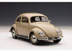 Vw Sedan 1955 Escarabajo/beetle Autoart 79778 - $ 2,390.00 en MercadoLibre