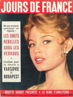 Brigitte Bardot - Jours de France n°103, 3 novembre 1956